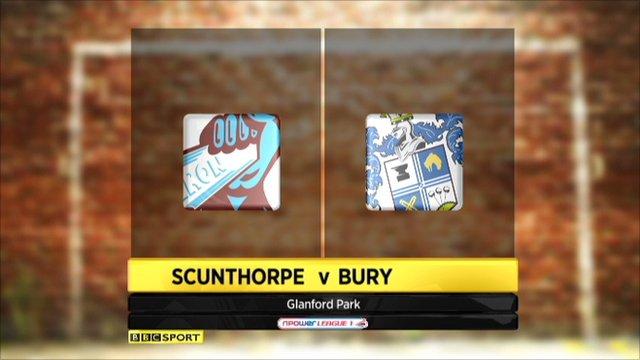 Scunthorpe 1-3 Bury