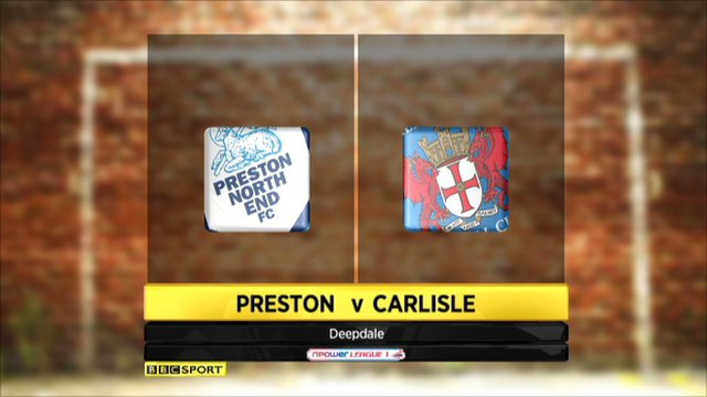Preston 3-3 Carlisle