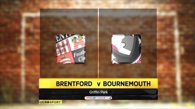 Brentford 1-1 Bournemouth