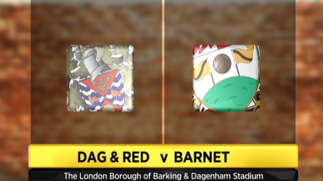 Highlights - Dagenham and Redbridge 3-0 Barnet