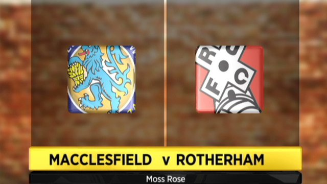 Highlights - Macclesfield 0-0 Rotherham