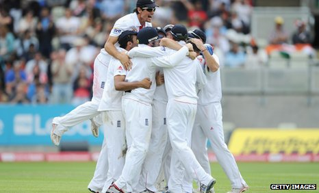 England's Test team
