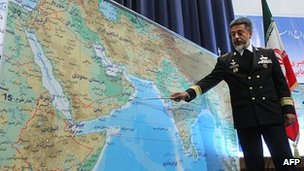 US warns Iran against closing Hormuz oil route