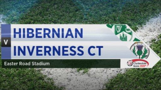 Hibernian 1-1 Inverness CT