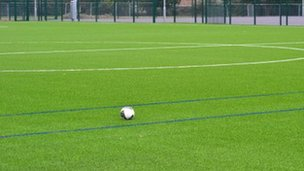 New pitch at Court Place Farm