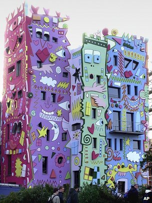 The Rizzi-House in Braunschweig, northern Germany