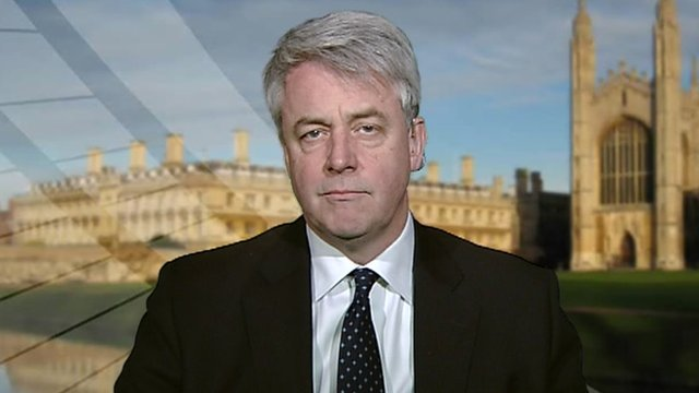 Health Minister, Andrew Lansley