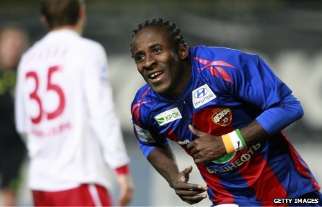 Ivory Coast and CSKA Moscow striker Seydou Doumbia