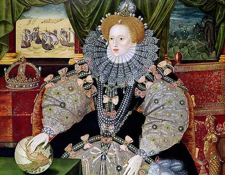 Armada portrait of Queen Elizabeth I