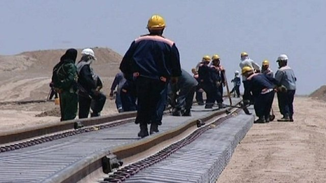 Afghanistan's rail project
