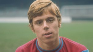 Harry Redknapp at West Ham in 1967