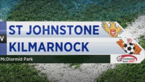 St Johnstone 2-0 Kilmarnock