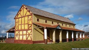 Wroxeter&#039;s Roman Town House
