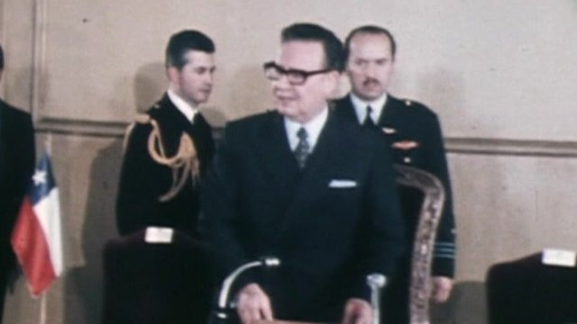 Former Chilean President Salvador Allende