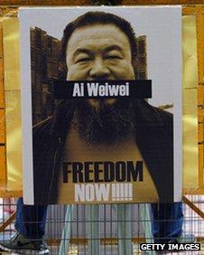 Ai Weiwei detention protest