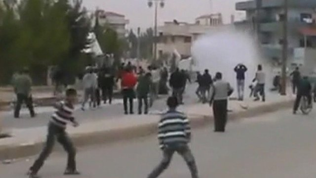 Unrest in Damascus