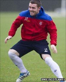 Rangers midfielder John Fleck