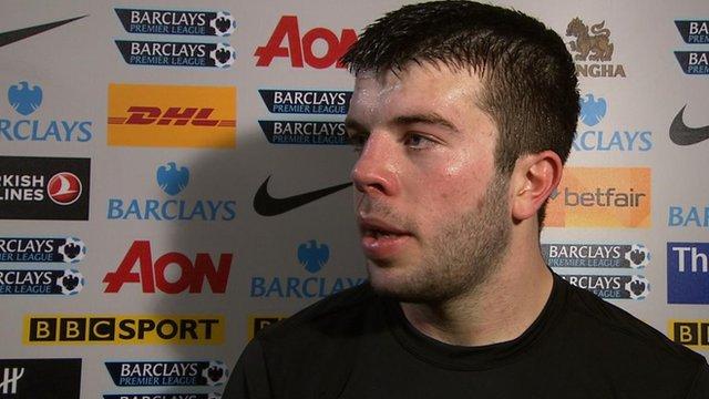 Match winner Grant Hanley