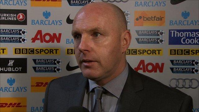 Blackburn manager Steve Kean