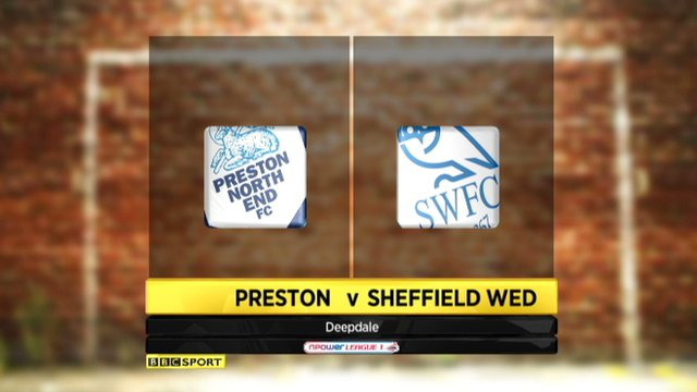 Preston 0-2 Sheff Wed