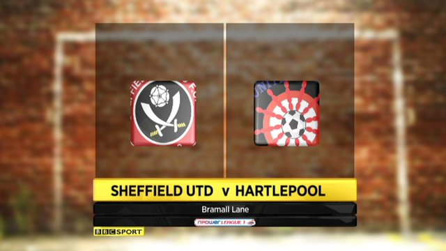 Sheff Utd 3-1 Hartlepool