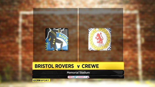 Bristol Rovers 2-5 Crewe