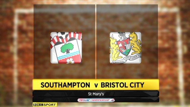 Southampton 0-1 Bristol City
