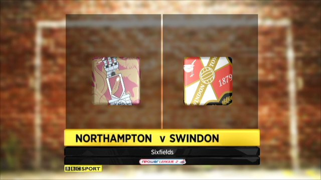 Northampton 1-2 Swindon
