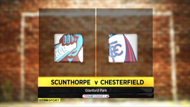 Scunthorpe 2-2 Chesterfield