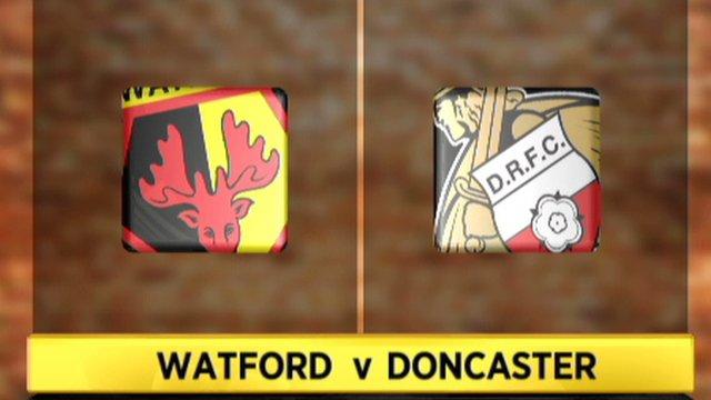 Watford 4-1 Doncaster