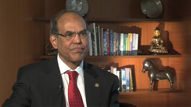 Duvvuri Subbarao of the Reserve Bank of India said the bank has always been 'mindful of growth concerns'