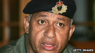Fiji&#039;s military ruler came to power in a coup in 2006.