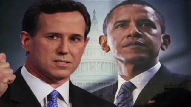 Rick Santorum campaign video still