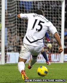 Wayne Routledge lets fly to double Swansea's lead at Aston Villa