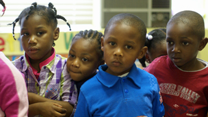 Children at Friends of Children of Mississippi