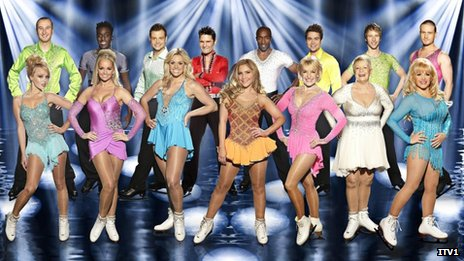 Dancing on Ice line-up 2012