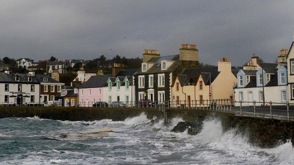 Portpatrick Hotel Accommodation Galloway Scotland