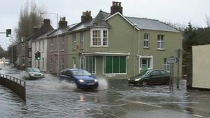 Flooding in Plymouth