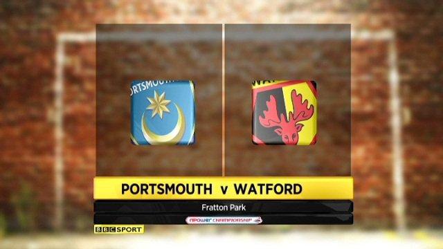 Portsmouth 2-0 Watford