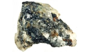 Mineral samples from Koryak Mountains