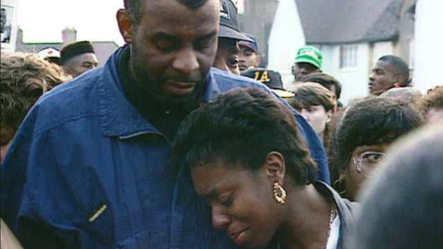 Neville and Doreen Lawrence; April 1993