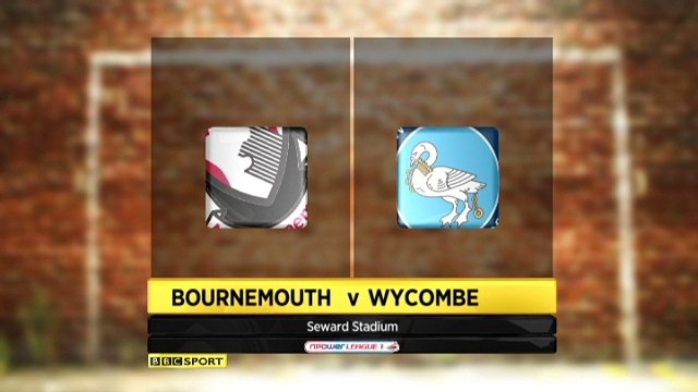 Bournemouth 2-0 Wycombe