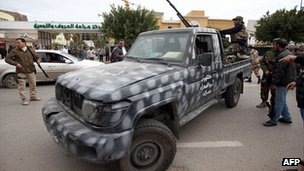 Fighters in Tripoli. 3 Jan 2011