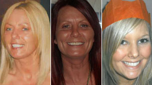 (Left to right) Susan McGoldrick, Alison Turnbull, Tanya Turnbull