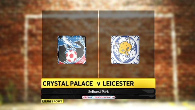 Crystal Palace 1-2 Leicester