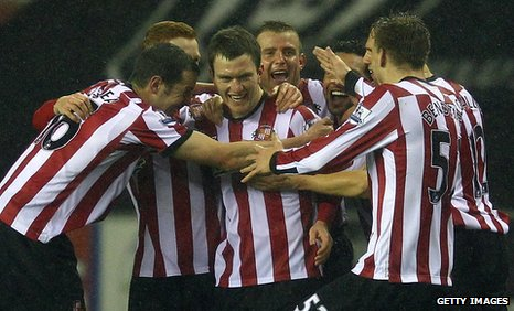 Sunderland players