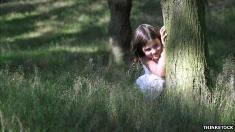 Child hiding