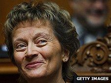 Swiss president Eveline Widmer-Schlumpf