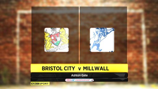 Bristol City 1-0 Millwall