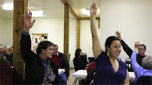 The Republican caucus in Dawson